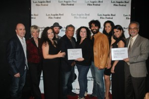 Los Angeles Reel Film Festival - Award Ceremony with all cast and crew THE MILLER PREDICTION