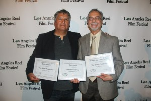 Los Angeles Reel Film Festival - Cyrus Parvini - Producer with Javier Ronceros - Director
